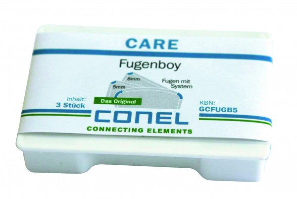 CARE Fugen-Boy 3er-Set 5mm/8mm/rund CONEL