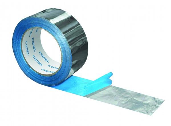 Alu-Klebeband CONEL 50mm breit Rolle a 100m