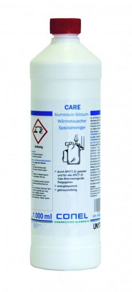 CARE Alu-Silizium-Wärmetauscher Spezialreiniger 1l-Flasche CONEL