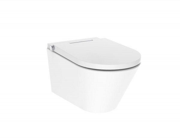 AXENT ONE PLUS Dusch WC DuschWC Toilette Gesäßdusche Fön Wasser Nachtlicht E80051000019