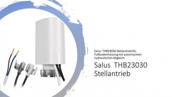SALUS Stellantrieb THB 230 M30x1,5 Fußbodenheizung hydraulischer Abgleich 130600