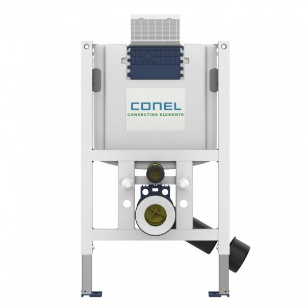 WC-Element VIS BH820mm NEU m.UP-Spülk. Betätigung vorne/oben m.Wandhalter CONEL