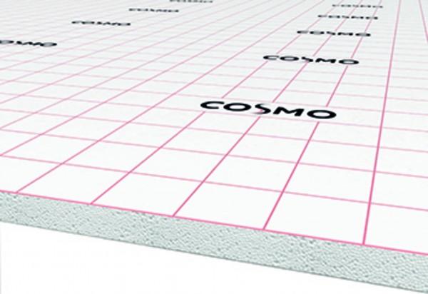 COSMO Wärmetrittschalldämmung 30-2 WLG 040 Klettsystem Rolle zu 10qm