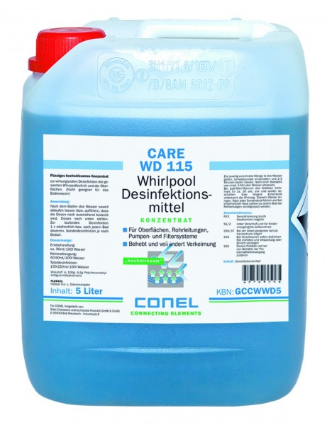 CARE WD 115 Clearwater 5 Liter Kanister Desinfektion CONEL
