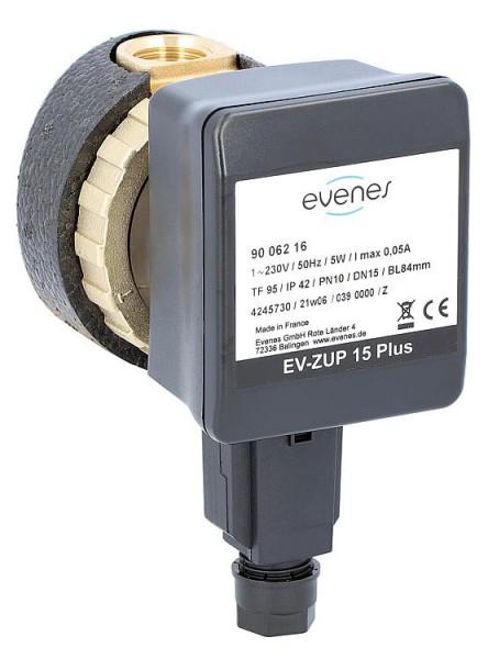 Zirkulationspumpe EVENES EV-ZUP 15, DN15 (R1/2), 230V
