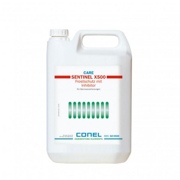 CARE Frostschutz X500 und Inhibitor 5 Liter CONEL